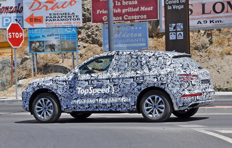 2017 Audi Q5 High Resolution Exterior Spyshots - image 640004