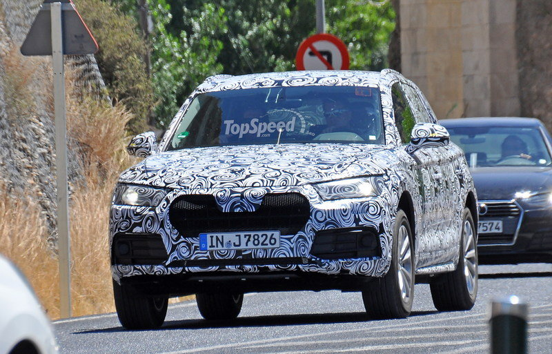 2017 Audi Q5 High Resolution Exterior Spyshots - image 640000
