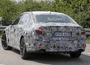 2017 BMW 5 Series Sedan Caught Testing: Spy Shots - image 639051