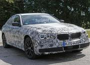 2017 BMW 5 Series Sedan Caught Testing: Spy Shots - image 639054