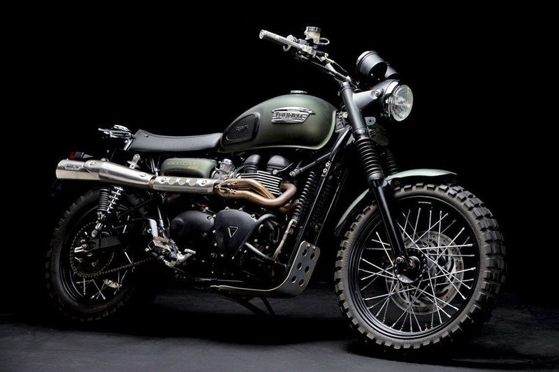 Chris Pratt's Triumph Jurassic World Scrambler Sells For £28,000