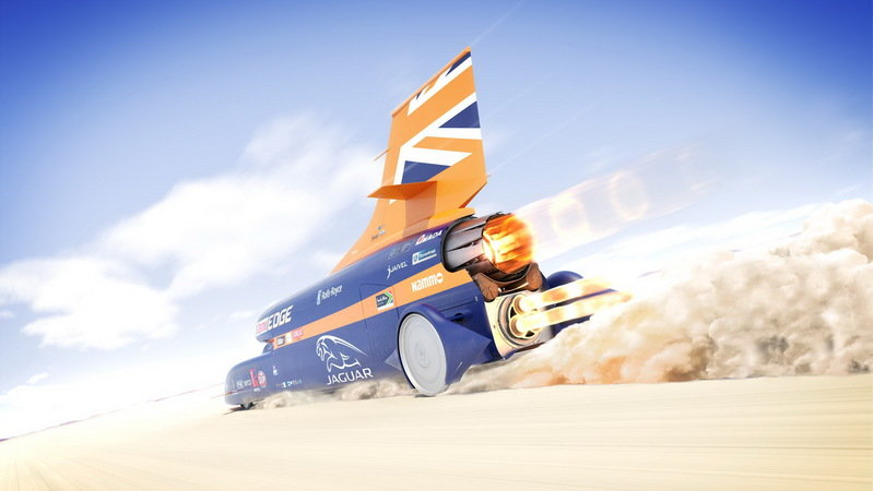 Cooling Challenges For The Bloodhound SSC's Engine