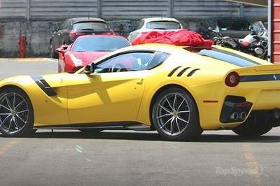 Could This Be The Future Ferrari F12 Speciale?