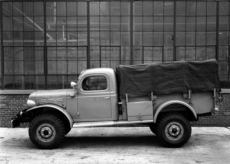 1946 Dodge Power Wagon High Resolution Exterior - image 639460