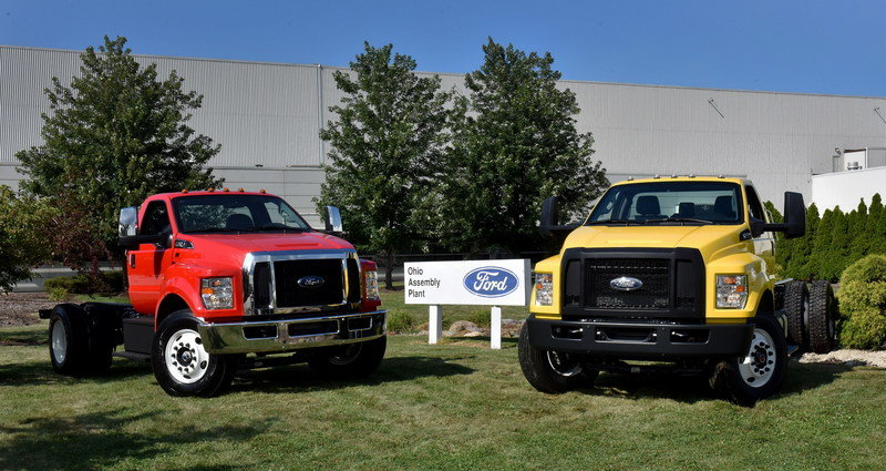 2016 Ford F-650, F-750 Trucks Begin US Production High Resolution Exterior - image 640022