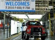 2016 Ford F-650, F-750 Trucks Begin US Production - image 640027