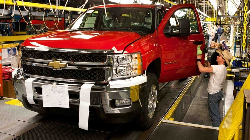 GM Plans To Invest $877 Million Into Michigan Truck Plant