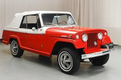 1968 Jeepster Convertible Top Speed