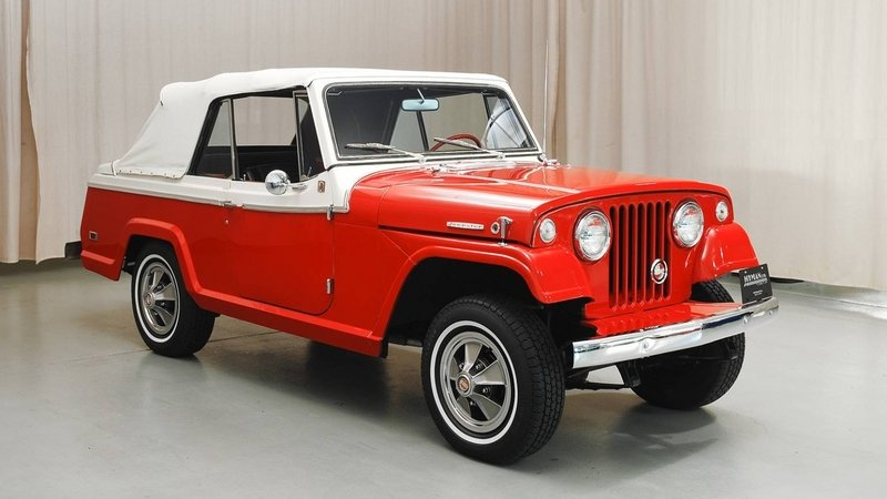 1968 Jeepster Convertible High Resolution Exterior - image 638931