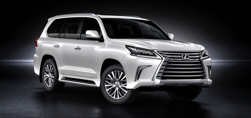 2016 Lexus LX 570 High Resolution Exterior Wallpaper quality - image 640384