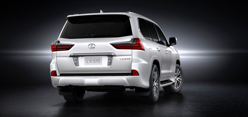 2016 Lexus LX 570 High Resolution Exterior Wallpaper quality - image 640385