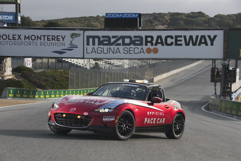 2015 Mazda MX-5 Cup Raceway Pace Car High Resolution Exterior Press Releases - image 640477