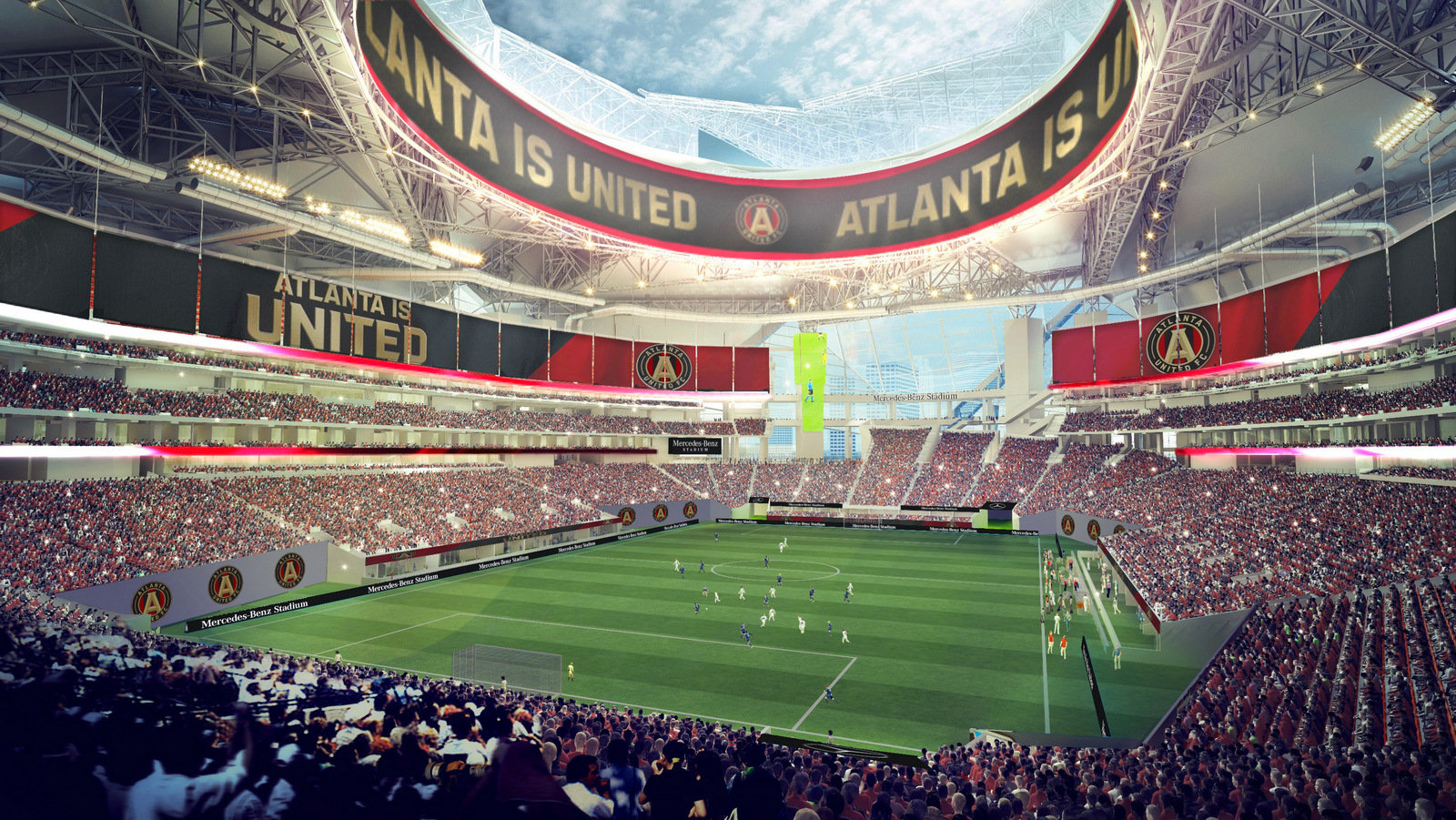 Mercedes benz buys naming rights for atlanta 39 s new for Mercedes benz football