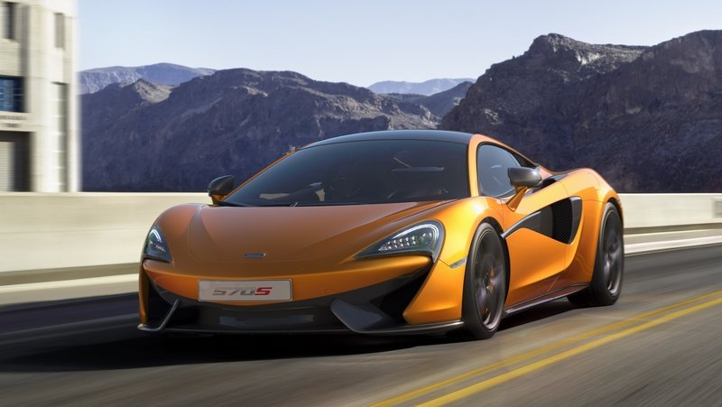 McLaren 570S Will Get Spider And GT Versions By 2017