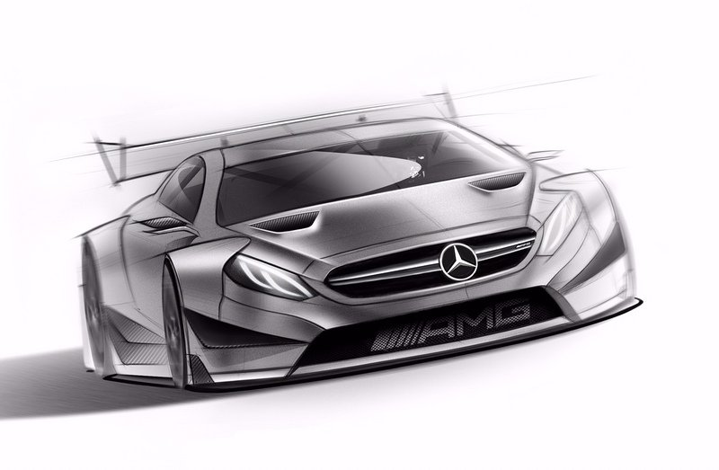 2016 Mercedes-AMG C63 DTM High Resolution Exterior Drawings - image 643868