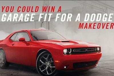 Win a Garage Makeover From Dodge