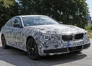 2017 BMW 5 Series Sedan Caught Testing: Spy Shots - image 639062