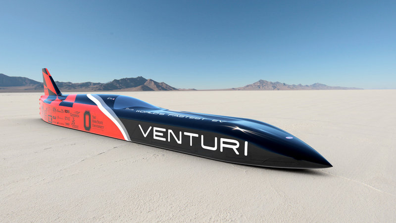 Venturi VBB-3 Achieves Land Speed Record, Doesn't Reach Top Speed