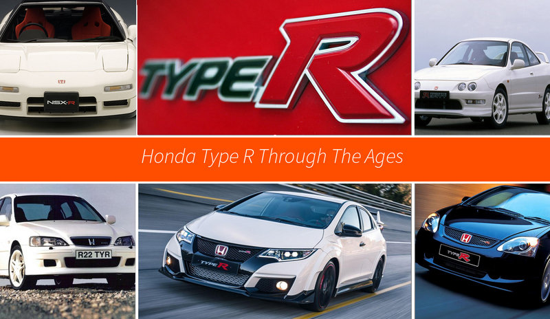 The Honda Type R Through The Ages