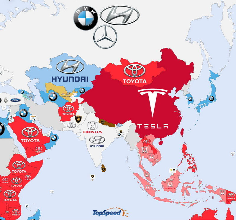 The World's Most Searched Car Brands: Infographic Brochure - Marketing - image 639497