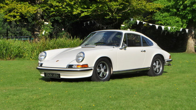World's Largest Porsche Auction to Be Held in the UK