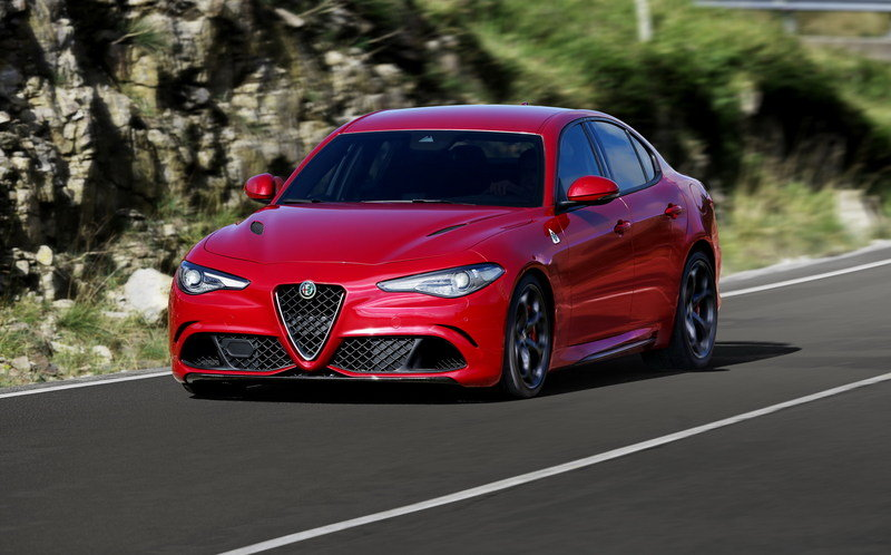 2017 Alfa Romeo Giulia Quadrifoglio High Resolution Exterior - image 646239