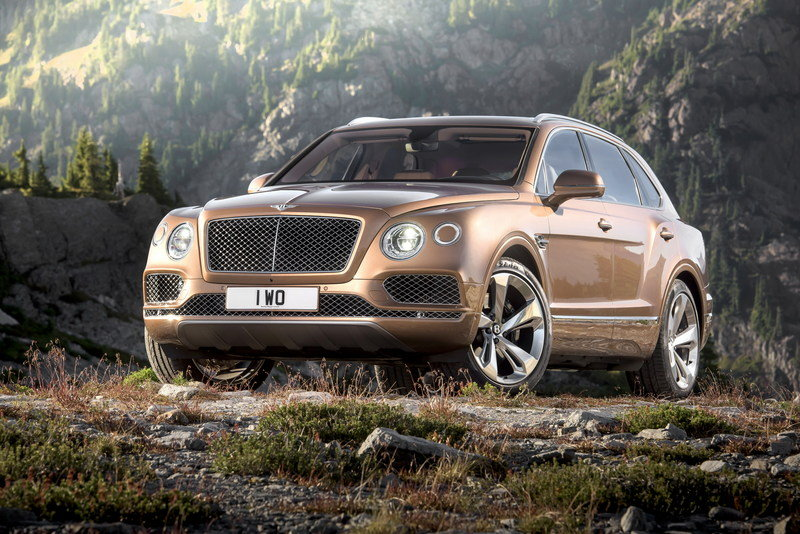 Bentley's Drinking the SUV Kool-Aid as Plans For a Coupe-SUV Gains Ground