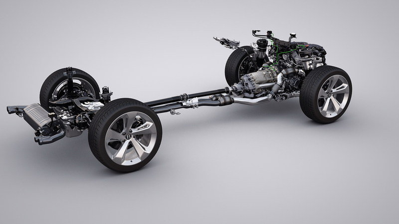 2017 Bentley Bentayga High Resolution Drivetrain - image 645123