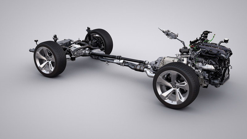 2017 Bentley Bentayga High Resolution Drivetrain - image 645124