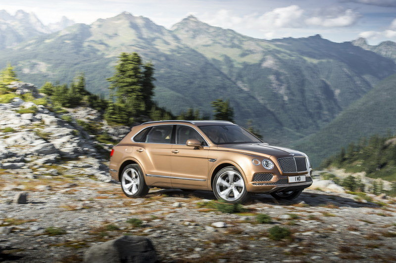 2017 Bentley Bentayga High Resolution Exterior - image 645143