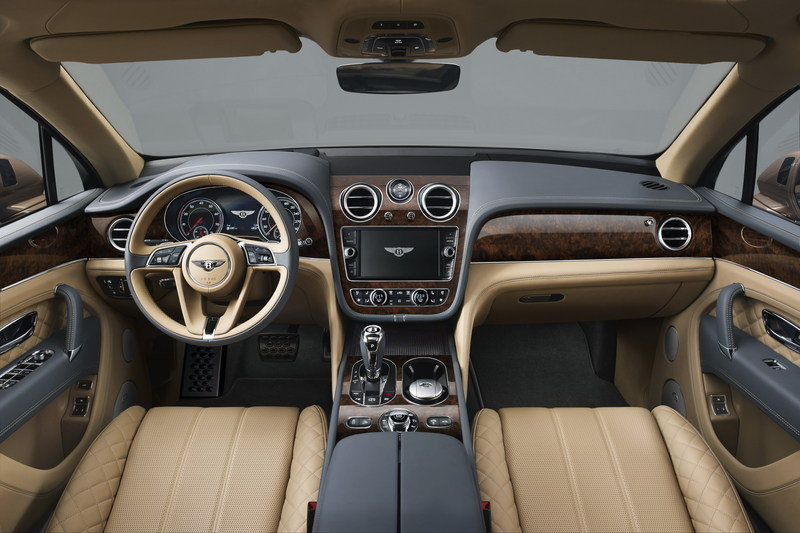 2017 Bentley Bentayga High Resolution Interior - image 645101