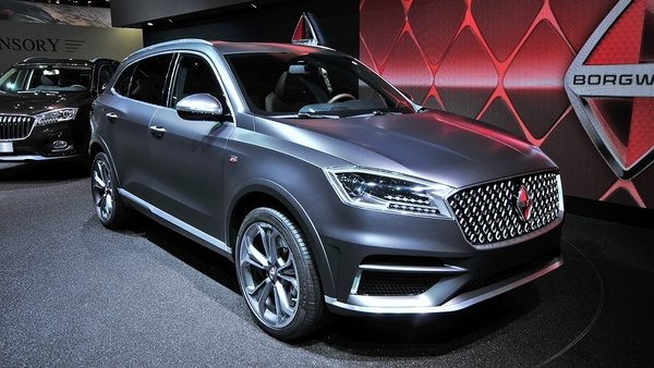What Is A Crossover Suv >> 2016 Borgward BX7 Review - Top Speed