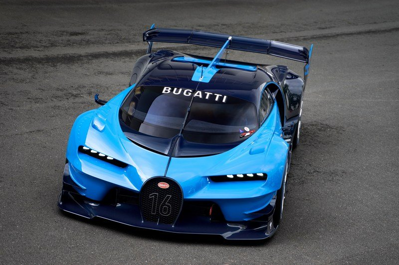 2016 Bugatti Vision Gran Turismo High Resolution Exterior - image 645894