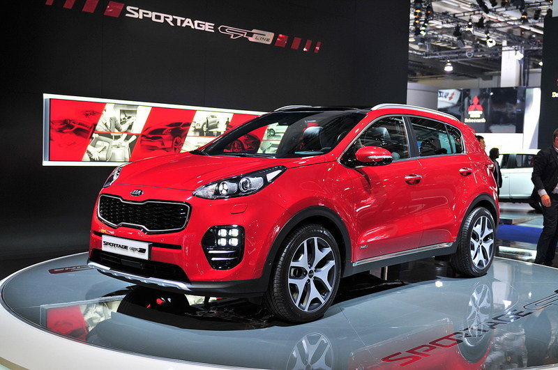 2017 Kia Sportage High Resolution Exterior AutoShow - image 647629