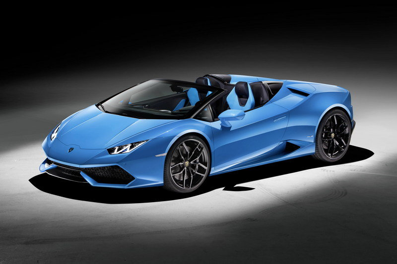 2016 Lamborghini Huracán LP 610-4 Spyder High Resolution Exterior Wallpaper quality - image 645858