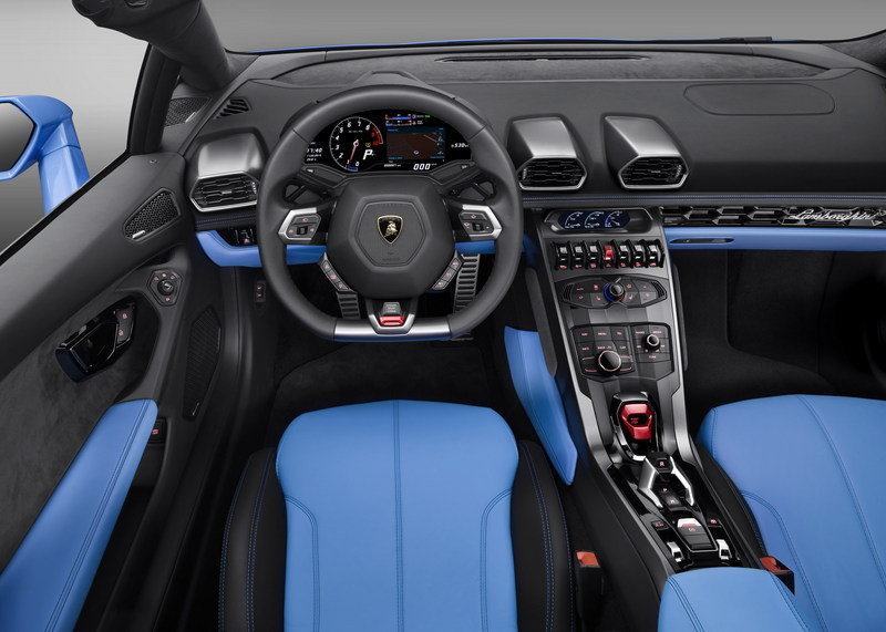 2016 Lamborghini Huracán LP 610-4 Spyder High Resolution Interior Computer Renderings and Photoshop Exclusive Photos - image 645853