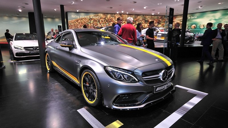 2016 Mercedes-AMG C63 Coupe Edition 1