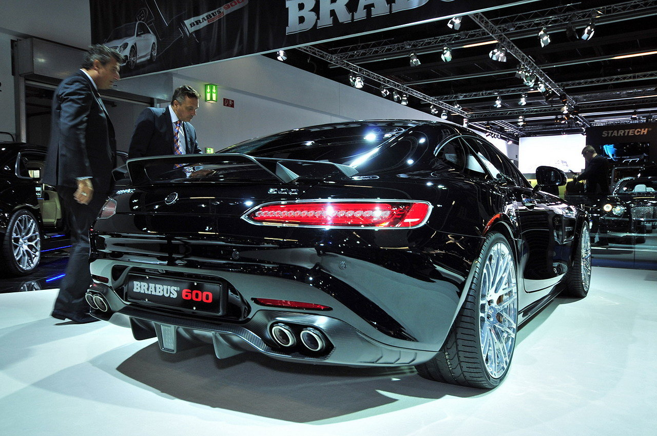 2016 mercedes amg gt s by brabus picture 647260 car review top speed. Black Bedroom Furniture Sets. Home Design Ideas