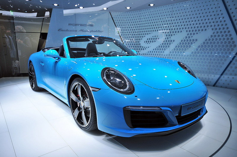 2016 Porsche 911 Convertible High Resolution Exterior AutoShow - image 647993