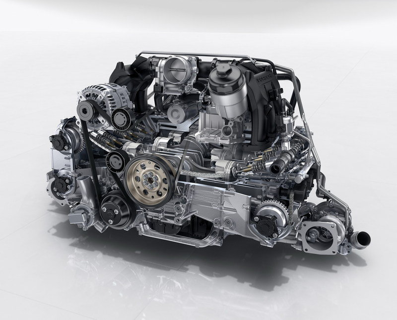 2017 Porsche 911 High Resolution Drivetrain - image 644850