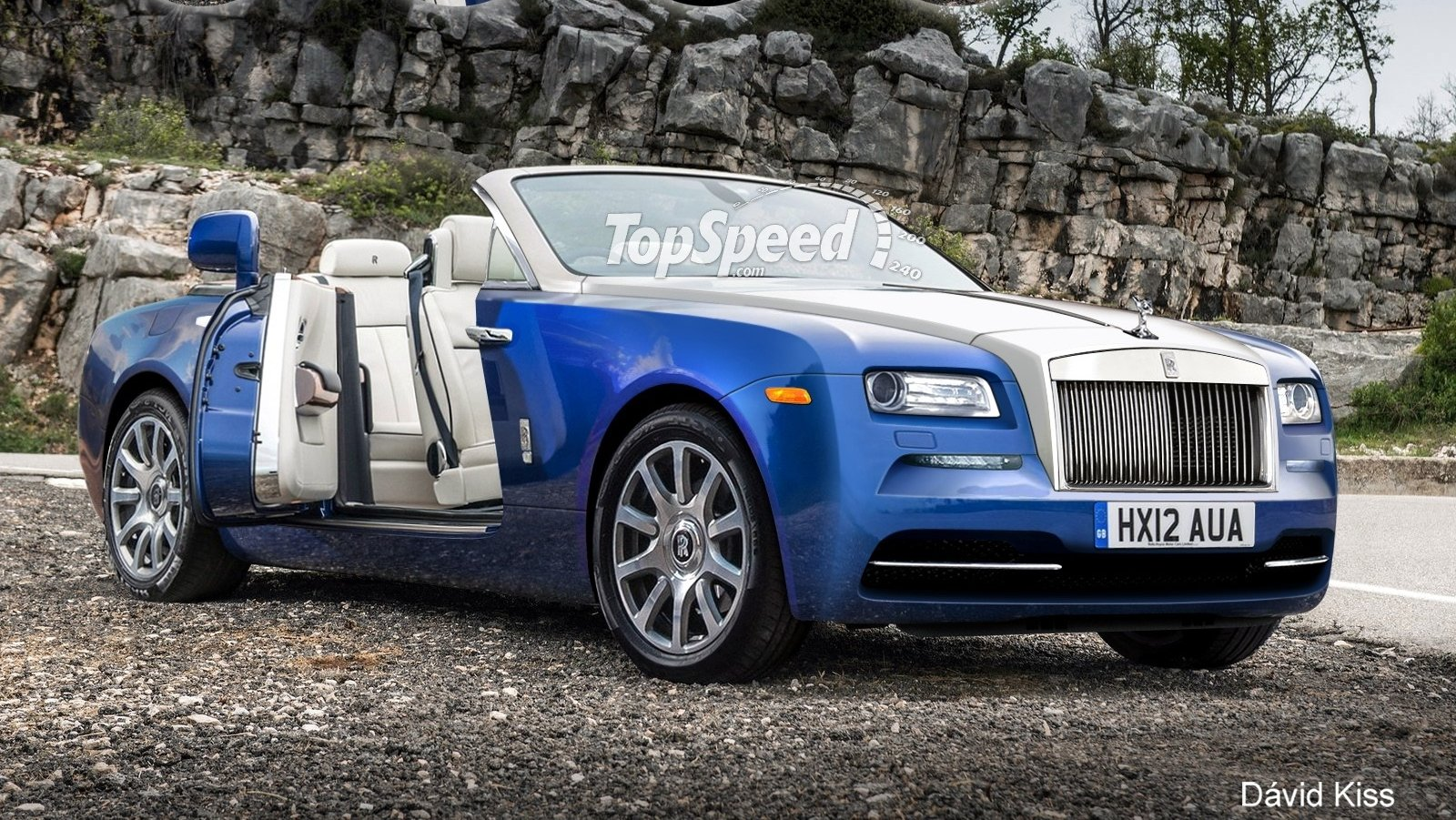Model 2016 RollsRoyce Dawn  Picture 644734  Car Review  Top