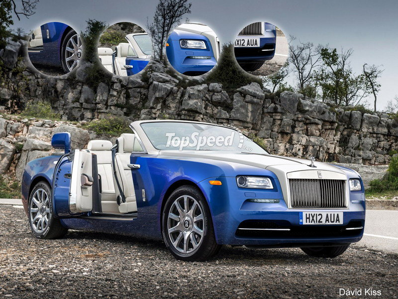 2016 Rolls-Royce Dawn Exterior Exclusive Renderings Computer Renderings and Photoshop - image 644733