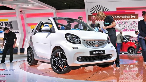 smart fortwo cabriolet - DOC648166