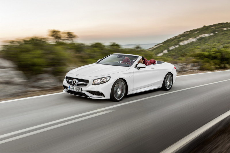 2017 Mercedes S63 4MATIC Cabriolet High Resolution Exterior Wallpaper quality - image 644297