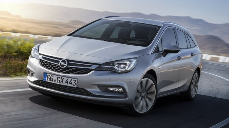 2017 Opel Astra Sports Tourer