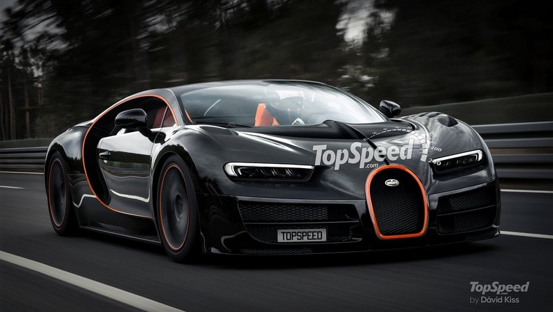 2018 Bugatti Chiron Exterior Computer Renderings and Photoshop Exclusive Photos - image 648628