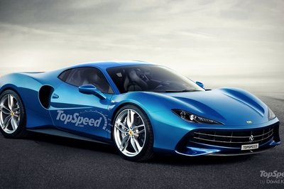 Ferrari Is Working On The Development Of A New V 6 Engine Top Speed