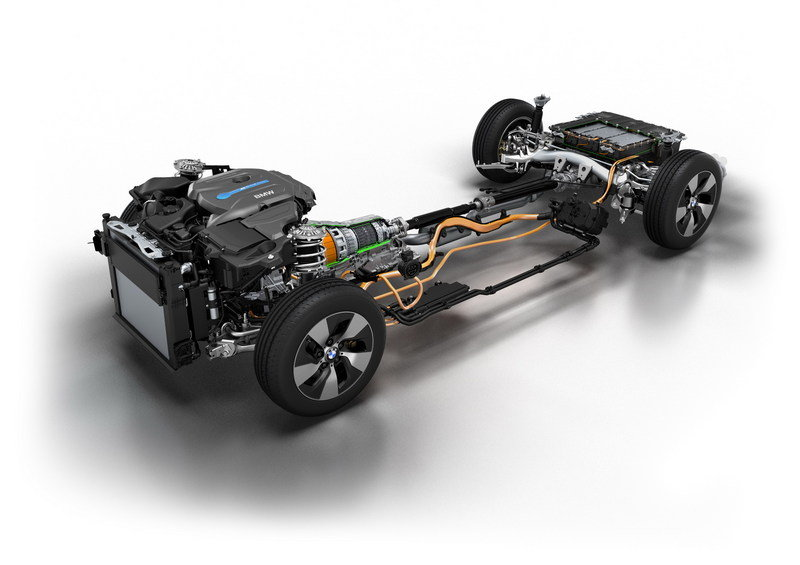 2016 BMW 330e Plug-In Hybrid High Resolution Drivetrain - image 644506