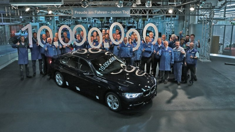 BMW Built Its 10 Millionth 3 Series Sedan