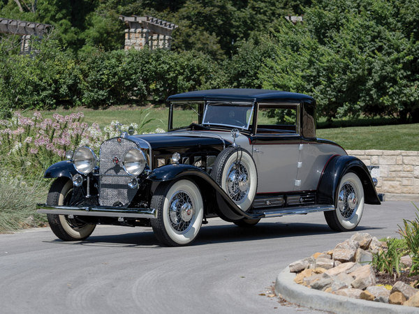 1930 cadillac v 16 two passenger coupe by fleetwood car. Black Bedroom Furniture Sets. Home Design Ideas